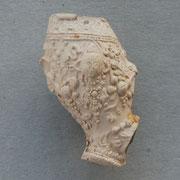Zeer scherpe, gedetailleerde barok pijp met engelenkopjes aan beide zijden van de kop