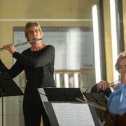 """""""Herbst zeit los"""" - Konzert mit Streichquartett"""" - LUcation - Ehemaliges Hallenbad Nord Foto: Martin H. Hartmann"""