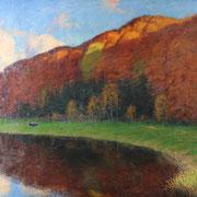 Franz Hecker Osnabrück, Ölgemälde der Gemäldeauktion ab 6.000 €