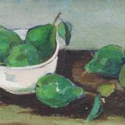 Fritz Duda, Ölgemälde 'Birnen' auf der Gemäldeauktion ab 200 €