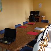 Salle de réunion, centre La margeride, Saugues, haute-loire