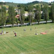 terrain de foot, colonies , Saugues, Haute-Loire