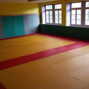 Dojo, stage judo, arts martiaux, Centre La Margeride, saugues, Haute-Loire