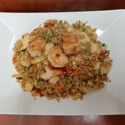 80. Suriname fried rice with chicken fillet and shrimps (spicy)