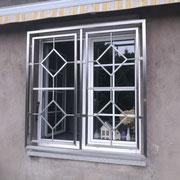 Fenstergitter zum öffnen