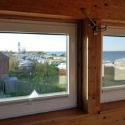 Blick aus dem Dachzimmer
