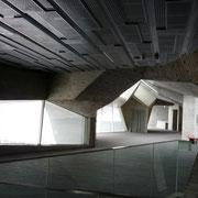 講演会中の静かな2階