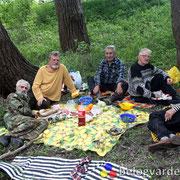 Ветеран Болоцков, Владимир Мелихов, ветеран Богданов , ветеран Пивоваров, ветеран Аксёнов. Фото elan-kazak.org