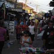 Marché au Salvador
