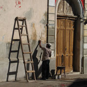 Homme au travail à Granada au Nicaragua