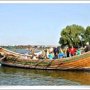 Am Samstag Morgen: Mit dem Slavenboot auf Angeltour