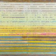 """""""White-Yellow-Blue-Compositon"""" ca. 120cm x 100cm"""