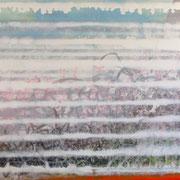 """""""Blue-White-Composition"""" ca. 200cm x 100cm"""