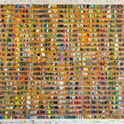 """All-Prisma-Composition"" ca. 120cm x 100cm"