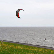 Kitesurfen in Upleward - Foto: milkshome4you