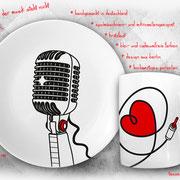 Eine tolle Geschenkidee für Sänger, Musiker und Musikliebhaber!