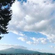 安達太良パーキングからの風景
