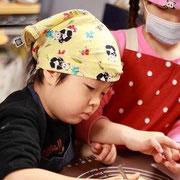 バレンタイン向けコラボ親子講座(大阪市・フォトグラフカフェ様)2015.2