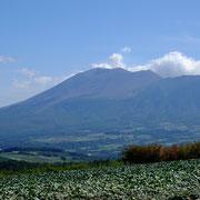 浅間山 噴火中