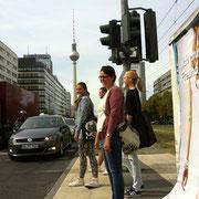 Quer durch Berlin-Mitte: Jungjournalisten auf Recherche-Tour