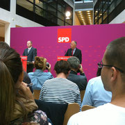 Live dabei: SPD-Pressekonferenz mit Peer Steinbrück im Bundestagswahlkampf 2013