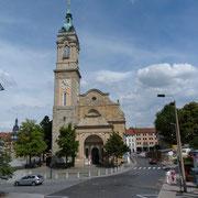 Die Georgenkirche,hier wurde Bach getauft und auch Martin Luther predigte hier.