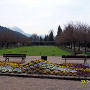 Der Kurpark in Berchtesgaden.