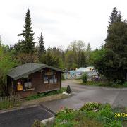 Der Camping Platz Sam in Salzburg
