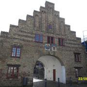Das Nordertor Wahrzeichen von Flensburg.