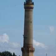 Leuchtturm an der Einfahrt in die Swine/Polen