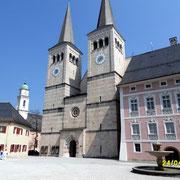 Das Schloss in Berchtesgaden.