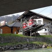 Seilbahn zum Oberzalzberg