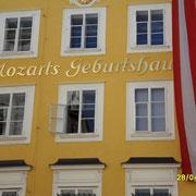 Das Geburts Haus Mozarts