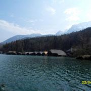 Die Boots Häuser der Elektroboote