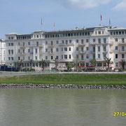 Das Hotel Sacher