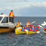 Tours, Expeditions and Charters, Kayak Agua Fresca Patagonia Chile