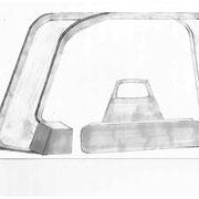 Dessin du prototype d'abris bus