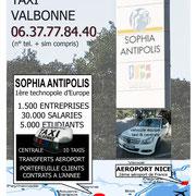 Affiche pour la vente d'un taxi