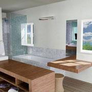 Salle de bain annexe variante