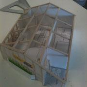 Maquette sans le toit