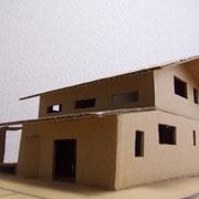 施主が作った模型
