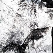 ravenheart Lack auf Pappmaché 120 x 150 cm