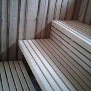 Saunabänke