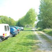 Parking de l'étang 650m²
