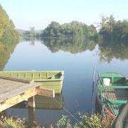 L'étang privé de 3ha