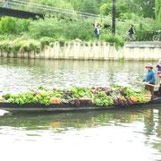 Marché sur l'eau au quatier St LEU, AMIENS