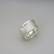 Ring Winter Silber