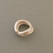 Ring Trinity Silber