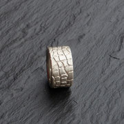 Ring Reptil Silber