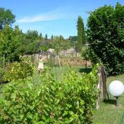 Jardin (vue de l'entrée)